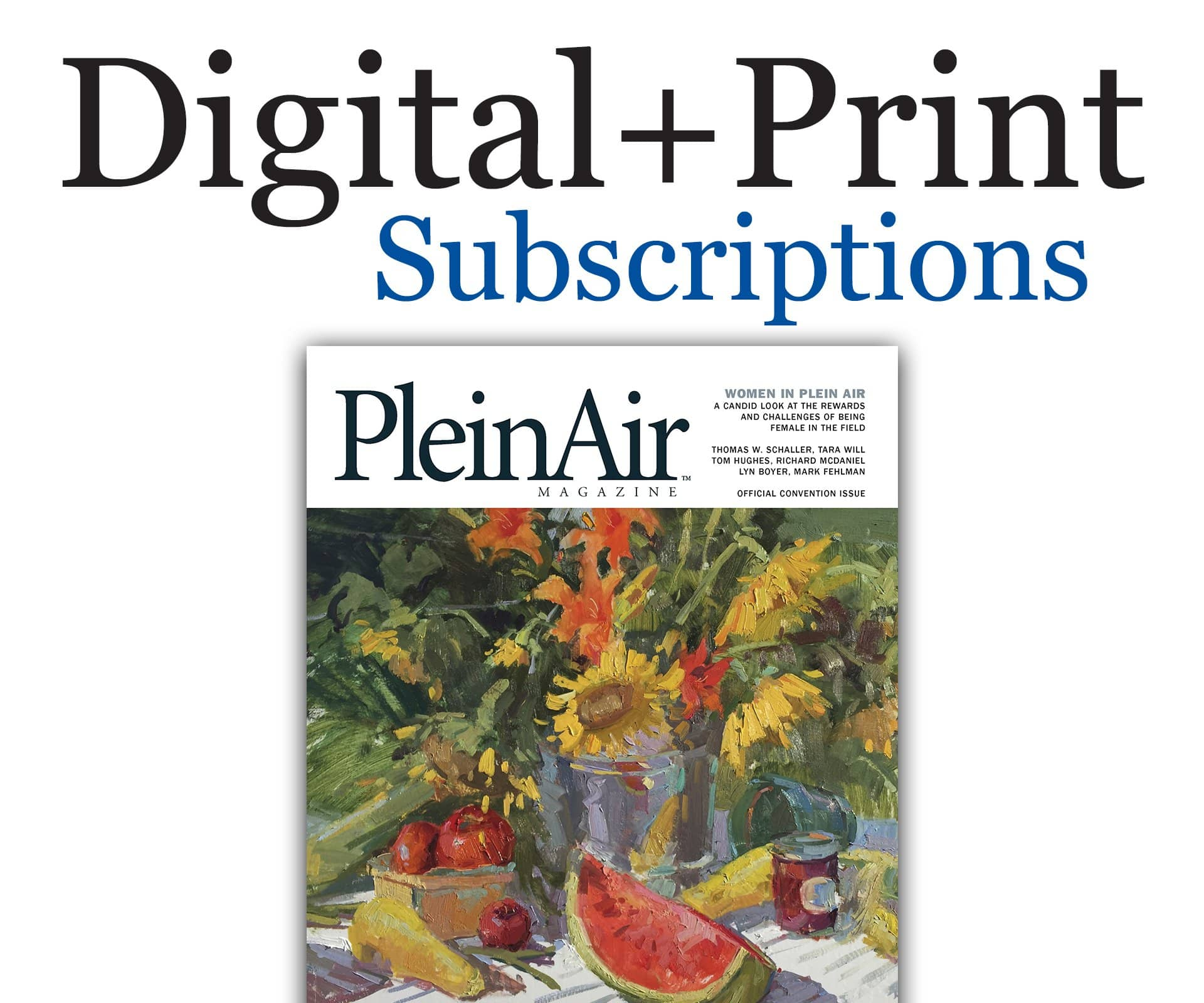 PleinAir Magazine Subscription