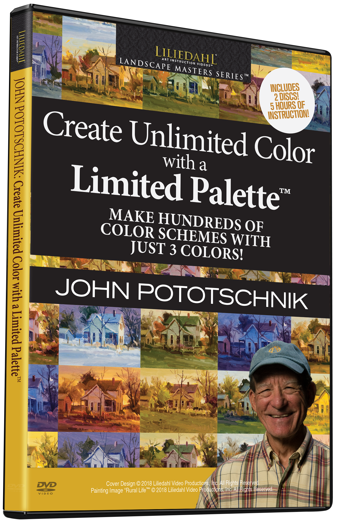 John Pototschnik: Unlimited Color With A Limited Palette