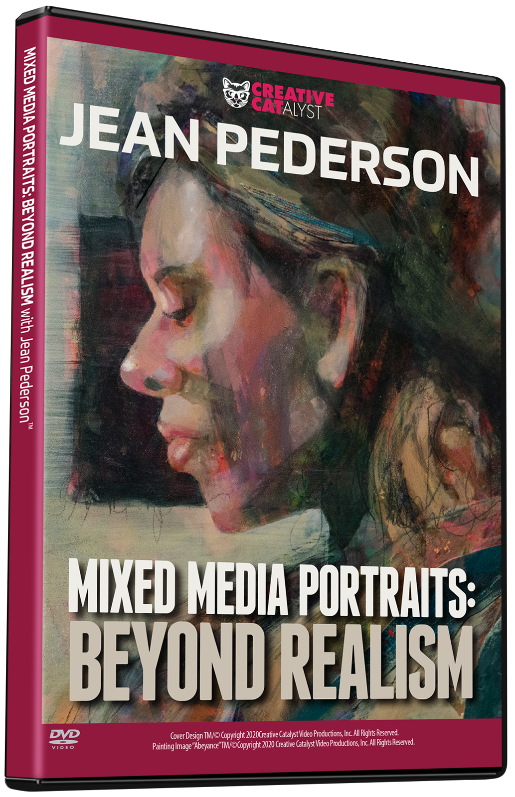 Jean Pederson: Mixed Media Portraits: Beyond Realism