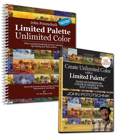 John Pototschnik: Unlimited Color with a Limited Palette - DVD/Book Combo