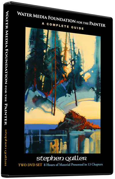 Stephen Quiller: Water Media Foundation for the Painter: A Complete Guide