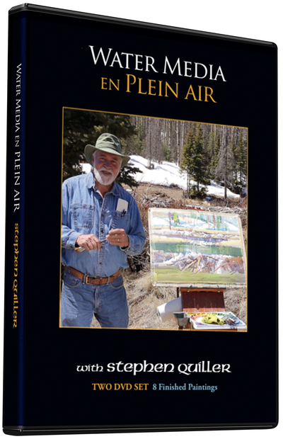 Stephen Quiller: Water Media En Plein Air