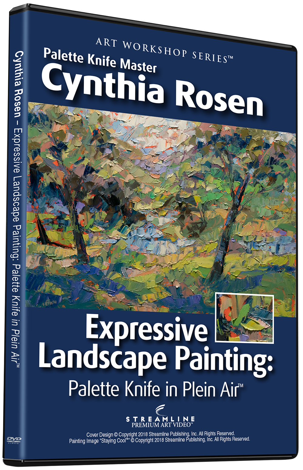 Cynthia Rosen: Expressive Landscape Painting — Palette Knife in Plein Air