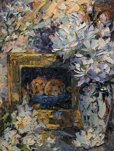 Cynthia Rosen: Still Life With Palette Knife