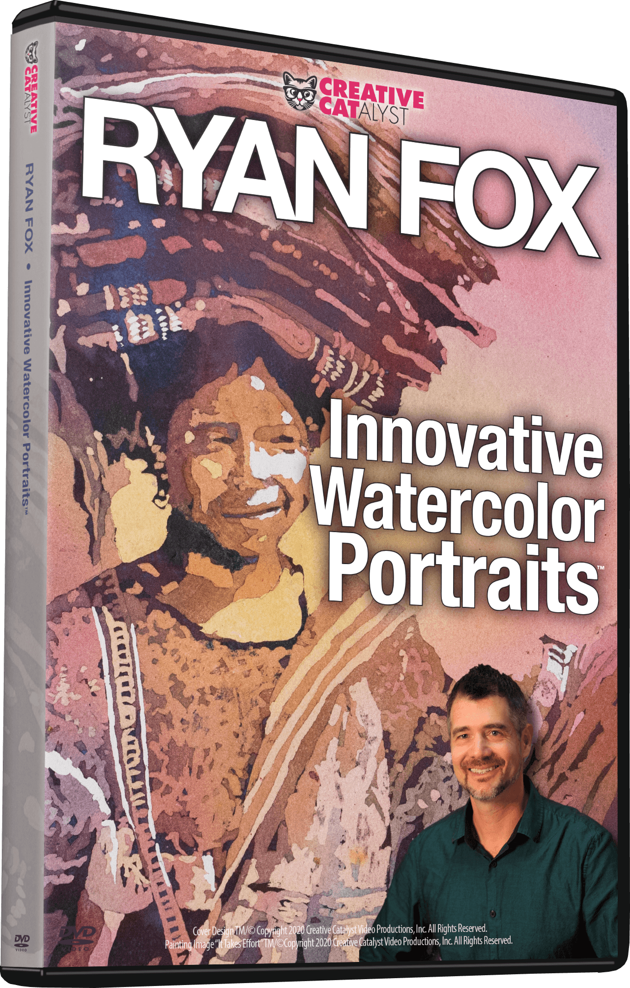 Ryan Fox: Innovative Watercolor Portraits