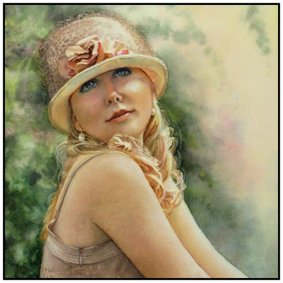 Susan Harrison-Tustain: Watercolor Portrait Workshop