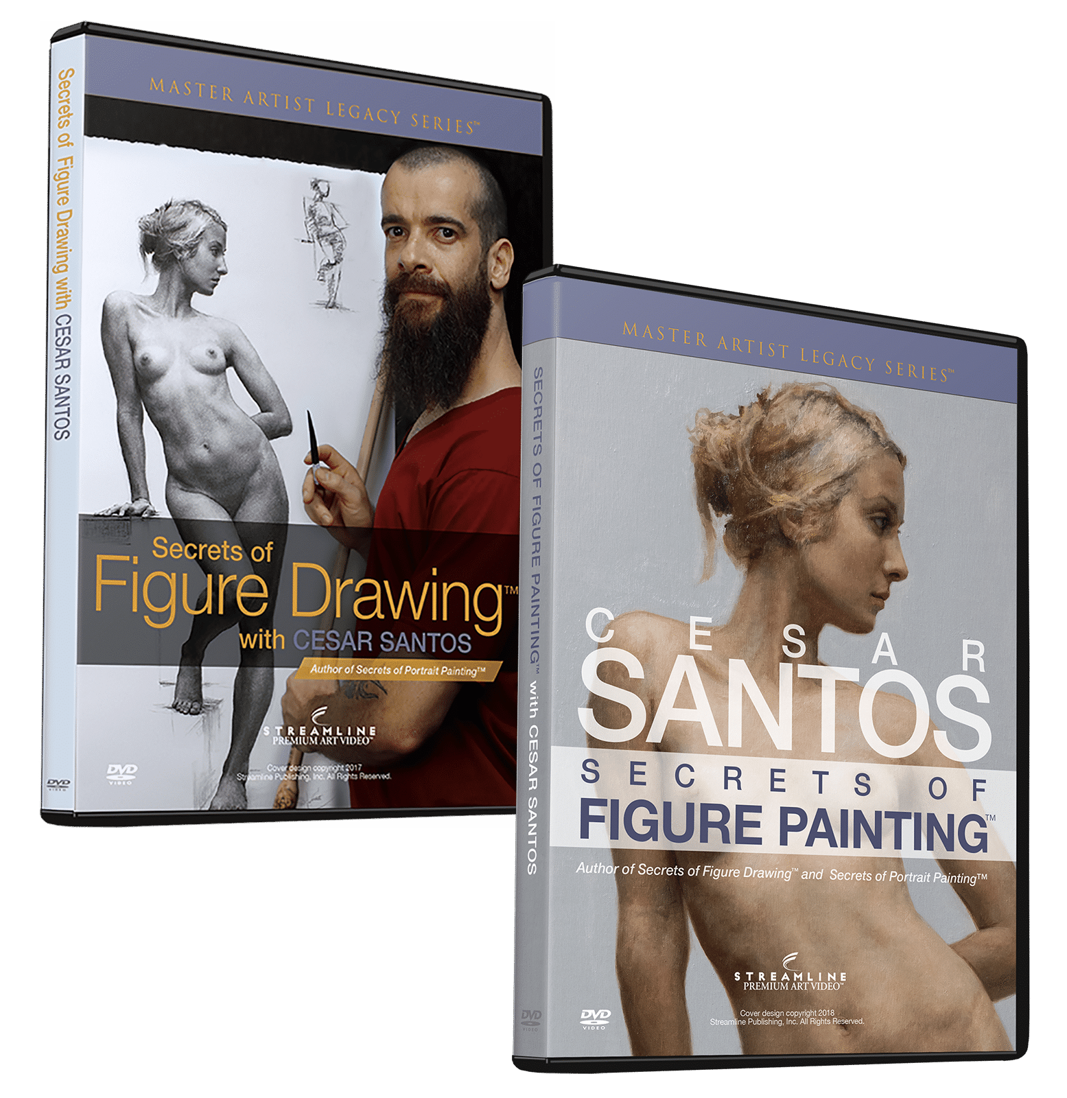 Cesar Santos: Figurative Art Bundle (2 Videos)