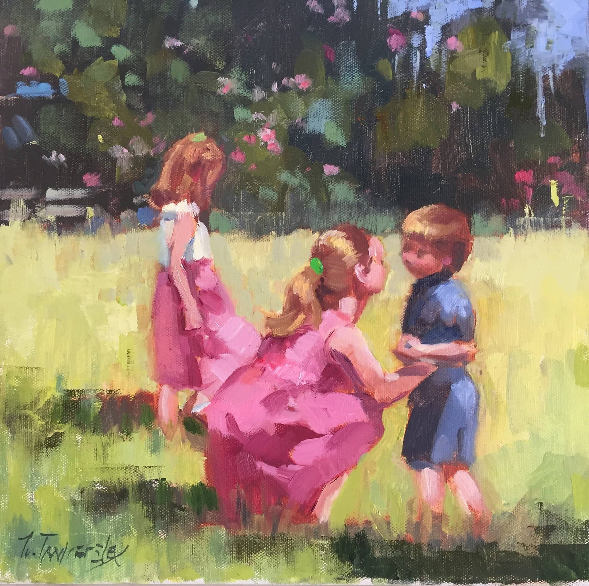 Nancy Tankersley Painting Figures From Photographs