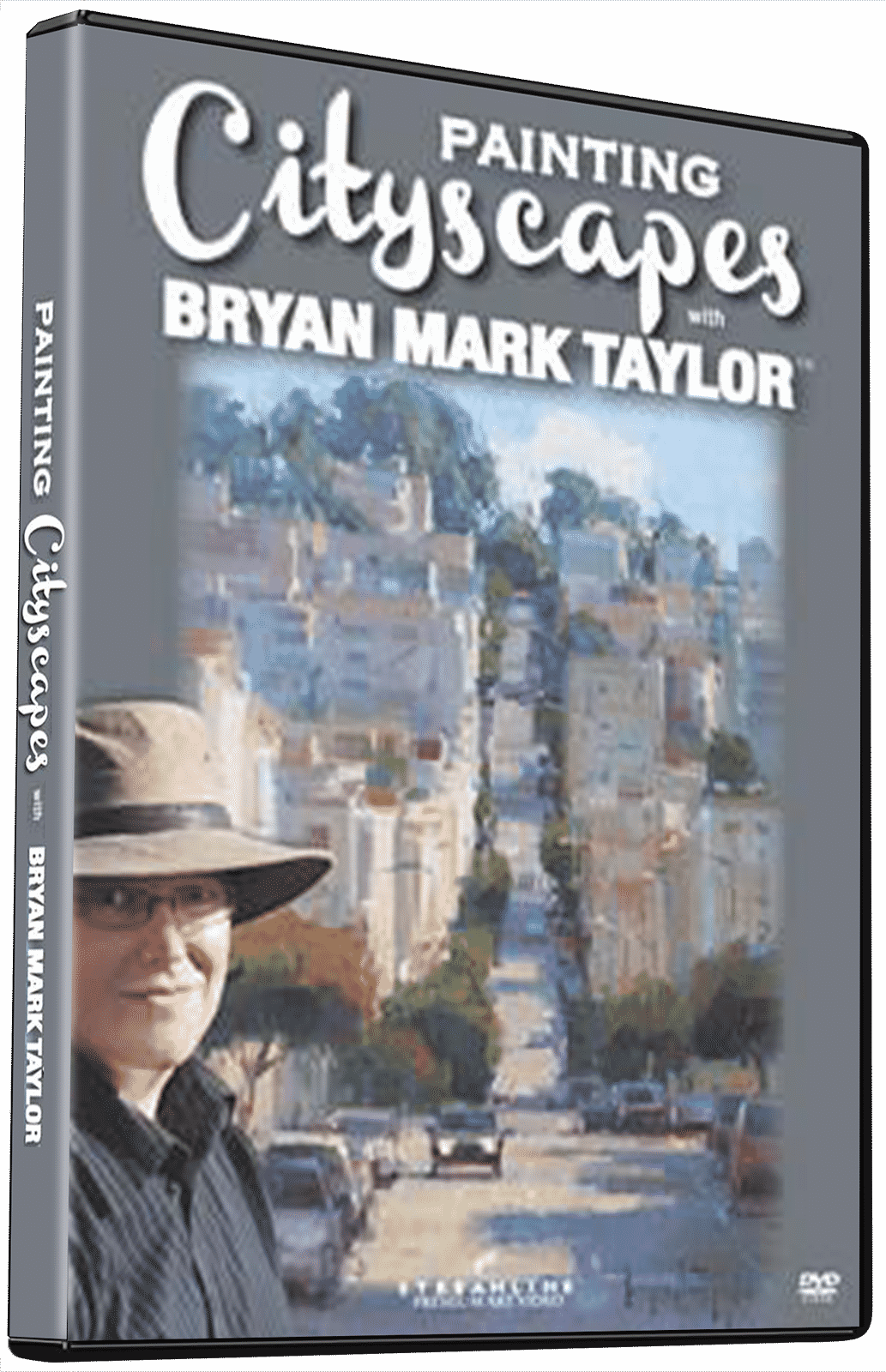 Bryan Mark Taylor: Painting Cityscapes