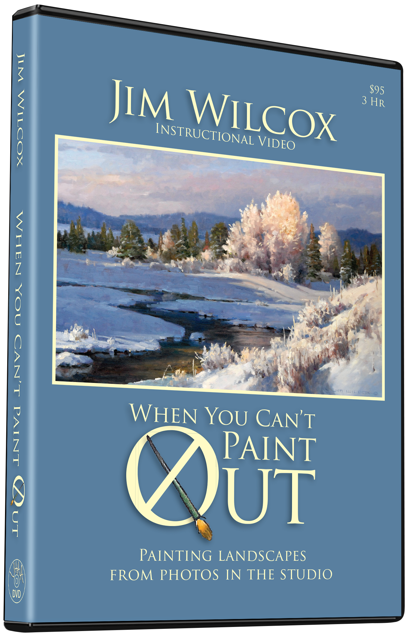 Jim Wilcox: When You Can't Paint Out
