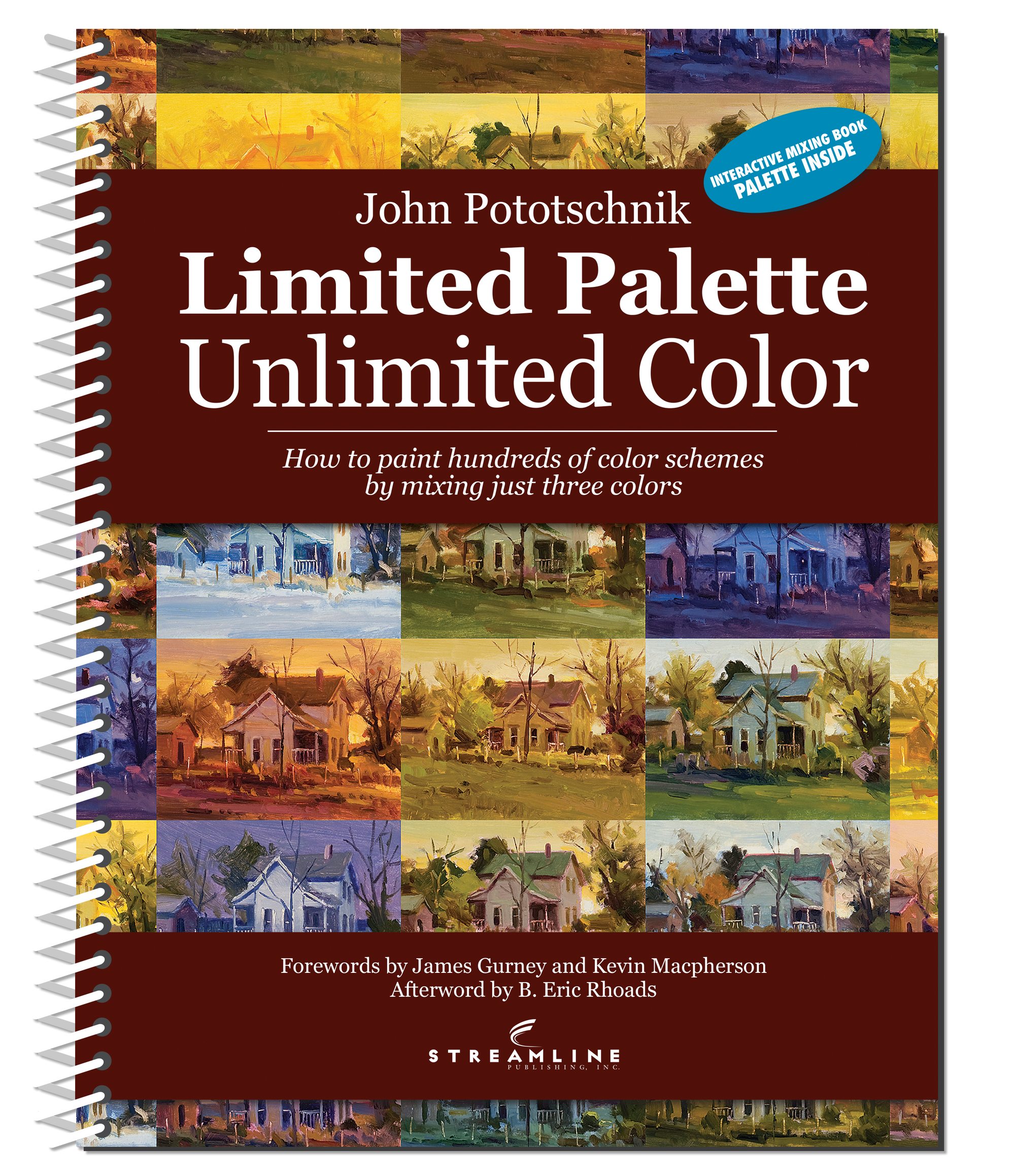 John Pototschnik: Unlimited Color With A Limited Palette Softcover Book