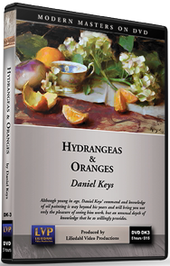 Daniel Keys: Hydrangeas and Oranges