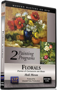 Hedi Moran: Florals (2 programs) Poppies and Canteloupe and Roses