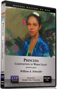 William A. Schneider: Princess - Pastel