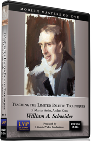 William A. Schneider: Teaching the Limited Palette Techniques