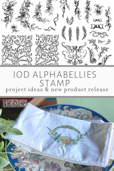 Alphabellies Decor Stamp - Preorder (Estimated Shipping late May 2021)