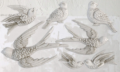 Birdsong 6x10 Décor Moulds