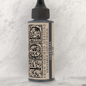 Erasable Chalk Ink - 2 oz. Charcoal and White
