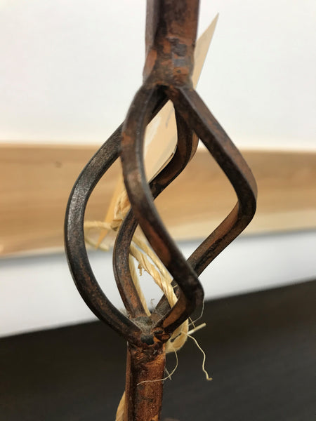 Twisted Metal Candle Holder