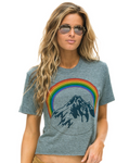 Mountain Rainbow Boyfriend Tee