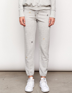 Embroidered Stars Classic Sweatpant