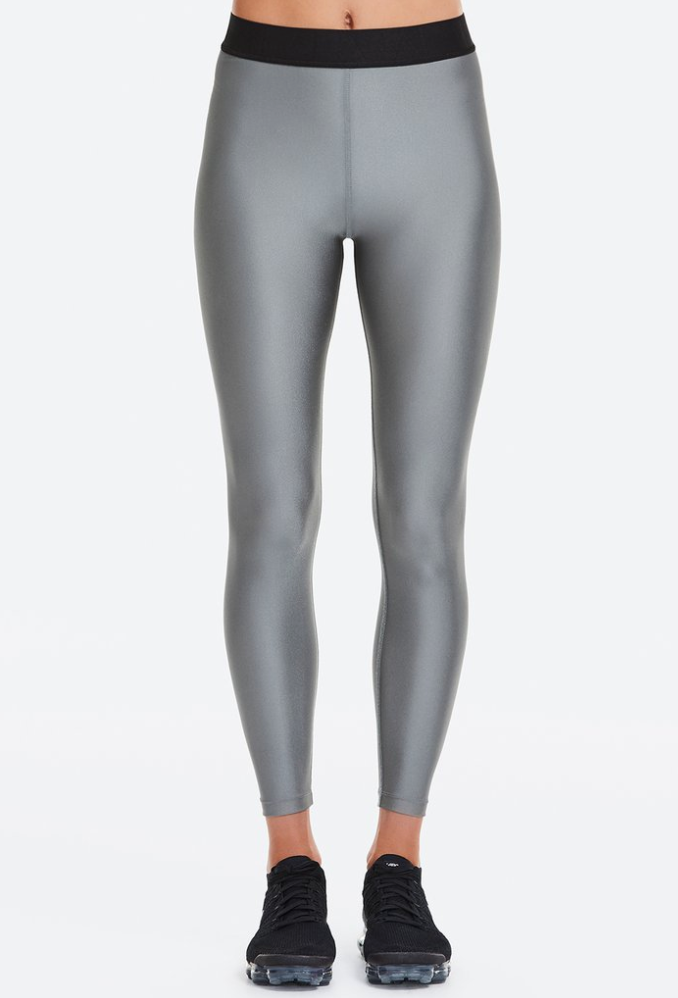 Frame Leggings - Gunmetal