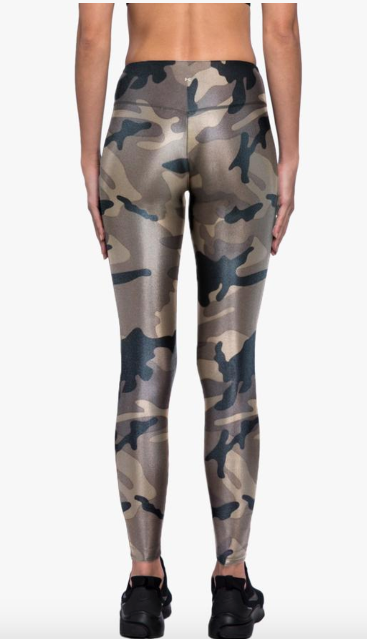 Lustrous High Rise Legging - Camo