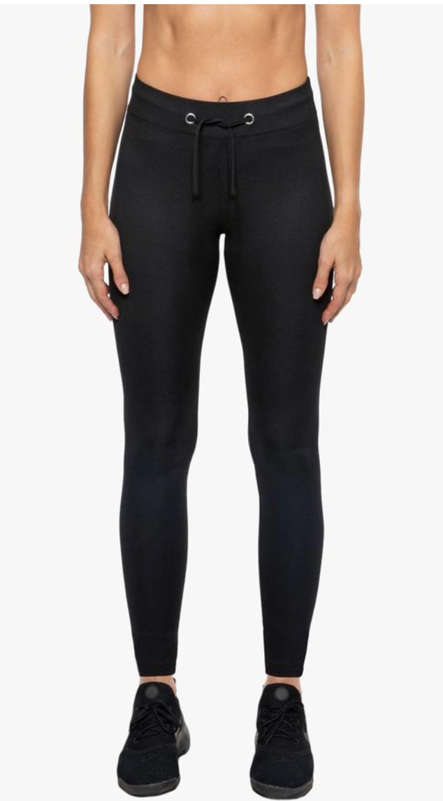 Duke High-Rise Ribbed Legging
