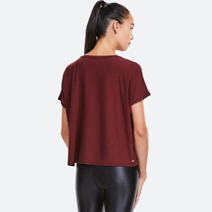 Breakers Tee - Oxblood