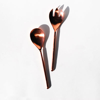 Copper Serving Set