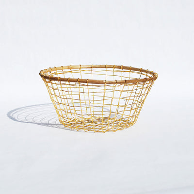 Gold Wire Basket
