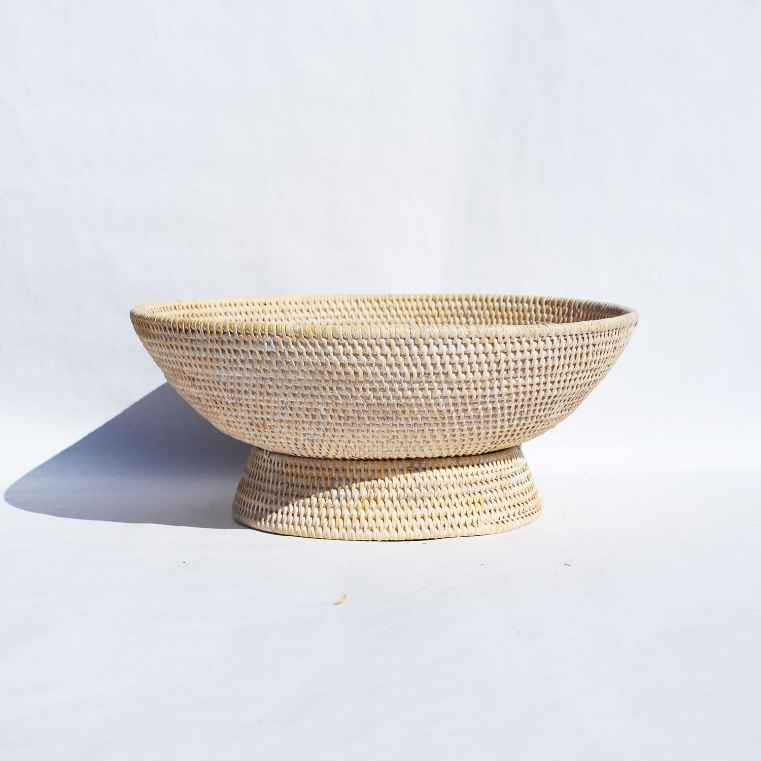 Cool Large Rattan Decorative Bowl Gmtry Best Dining Table And Chair Ideas Images Gmtryco