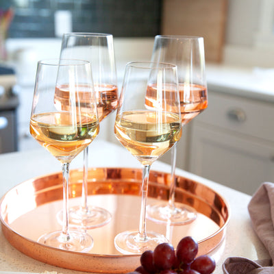 Crystal Chardonnay White Wine Glasses