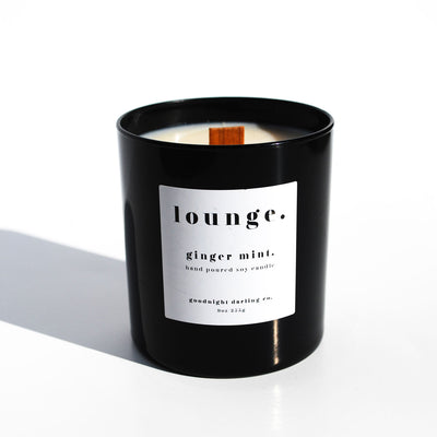 Ginger Mint Soy Candle