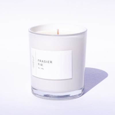 Frasier Fir White Tumbler Candle