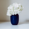 Navy Blue Small Mini Vase