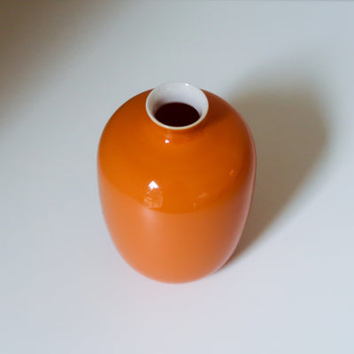 Orange Small Mini Vase