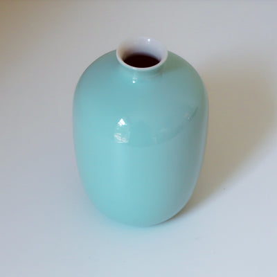 Light Blue Mini Small Vase