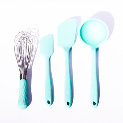 Mint Cooking Utensil Set