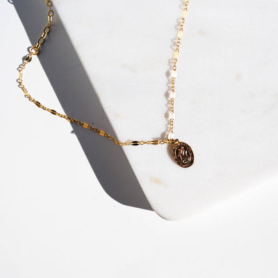 Shimmering Coin Necklace