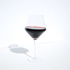 Crystal Burgundy Red Wine Glasses