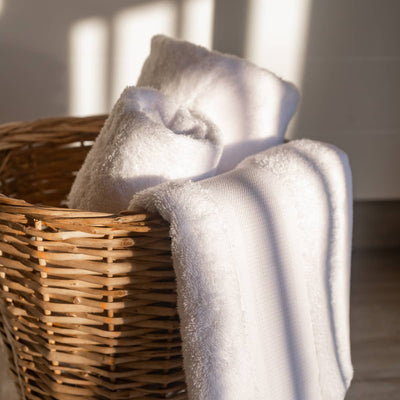 Turkish Cotton Towel Set - White
