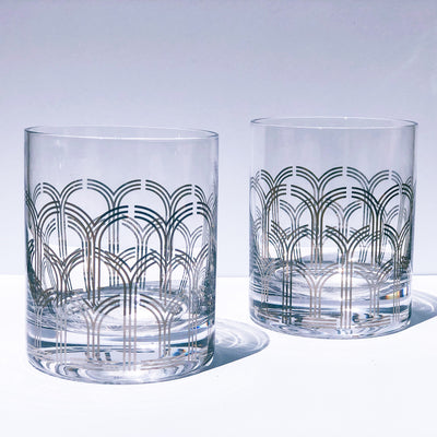 Daisy Deco Tumblers - Set of 2