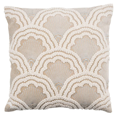 Chelsey Throw Pillow Cover - Beige