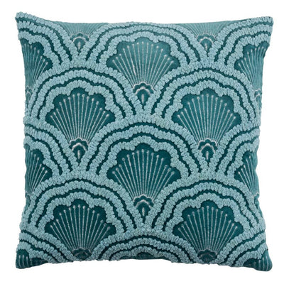 Chelsey Throw Pillow Cover - Dark Emerald