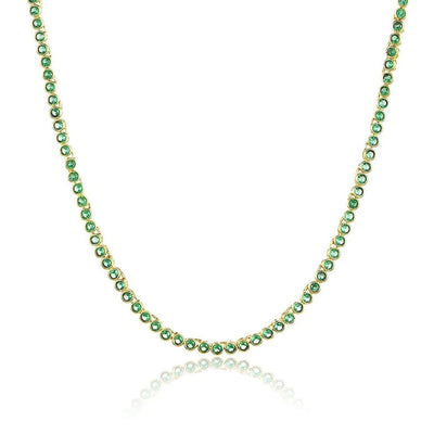 Baby Baroness Necklace - Emerald