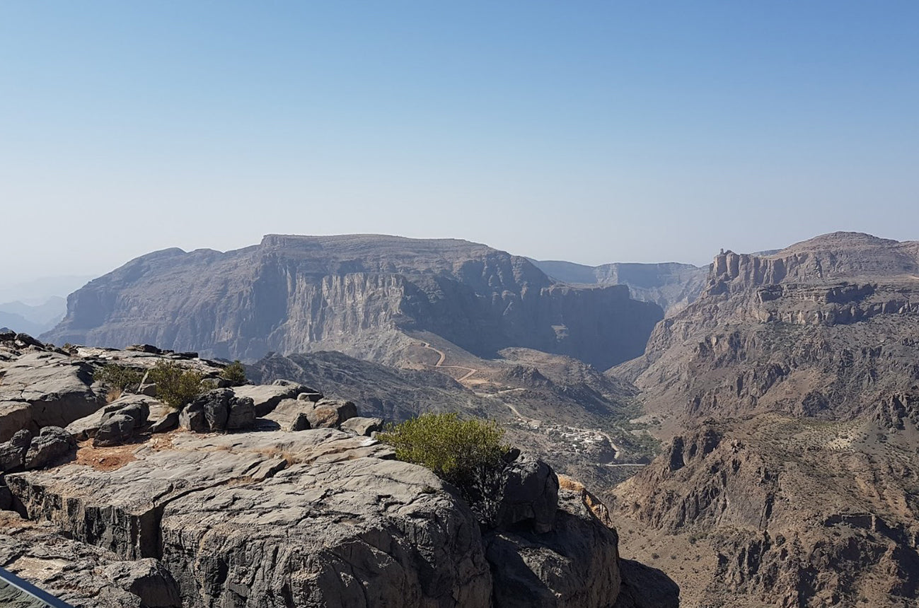 Al Hajar Oman mountains