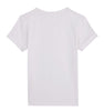 Back White Organic Cotton Tshirt