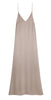 Pre-Order: OYSTER - Maxi Silk Satin Slip Dress