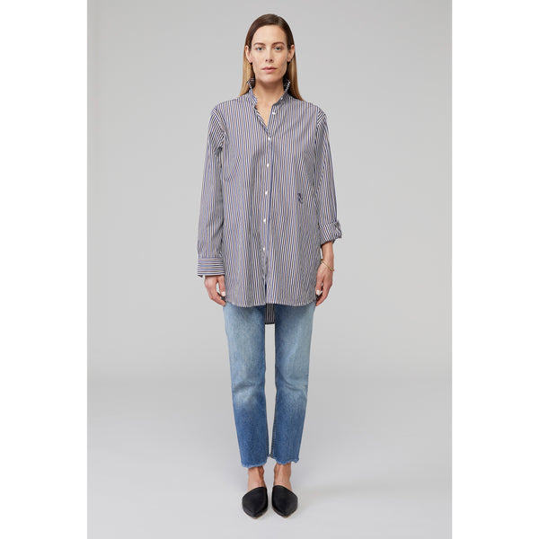 BUOY - Long Line Shirt with Monogram